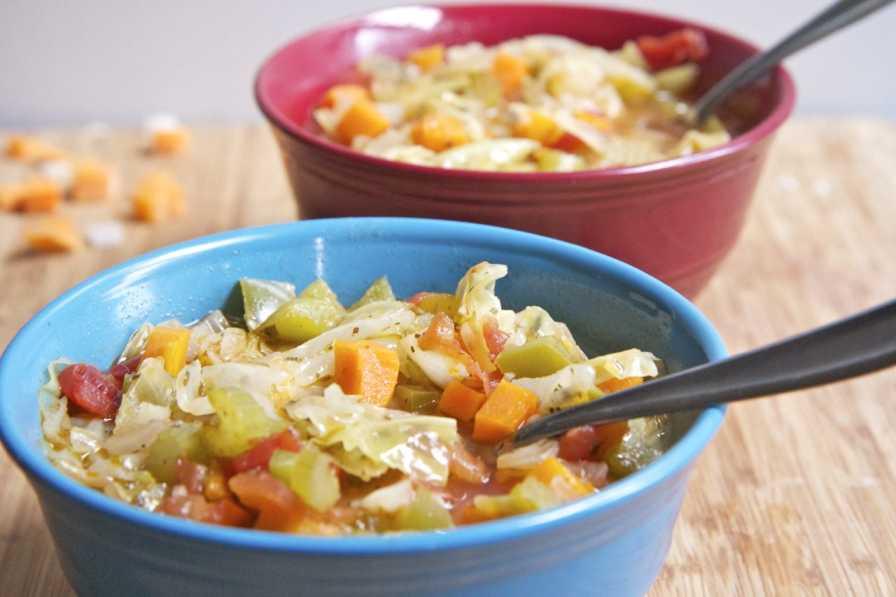 عکس رژیم غذایی سوپ کلم