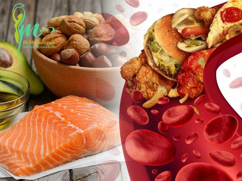 رژیم غذایی کاهش کلسترول خون